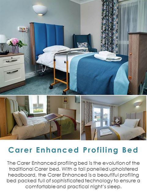Carer Enhanced Profiling Bed