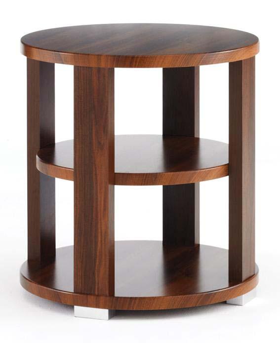 Oval Vs Rectangular Coffee Table: Manhattan Circular Coffee Table