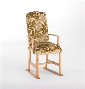 Picture of Mulberry dining chair with arms & skids