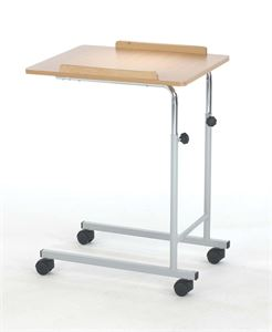 Picture of Wolverhampton overbed table with castors