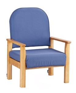 Picture of Bariatric chair & housekeeper wheels