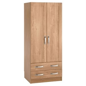Picture of Boston double wardrobe 2 drawer