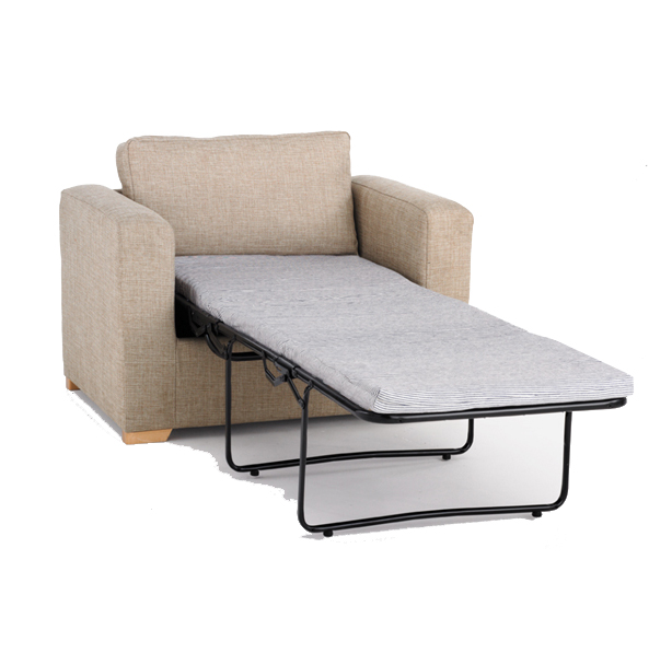 Milan single chair bed renray healthcare Single couch bed