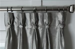 Picture of Button Style Curtains