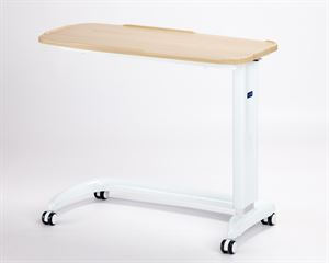 Picture of Enterprise non tilting overbed table\chair, Beech with plastic base cover