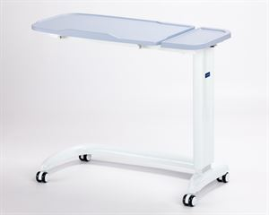 Picture of Enterprise tilting overbed table\chair Blue with plastic base cover