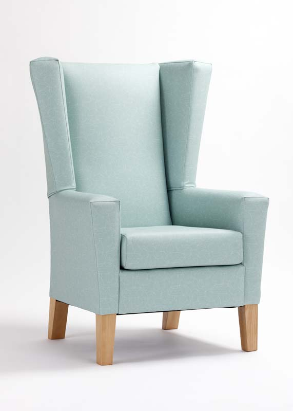 Modica High Back Wing Chair Renray Healthcare