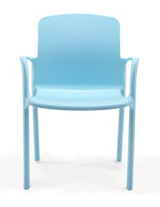Picture of Antimicrobial Adult Chair T100-AN with Arms