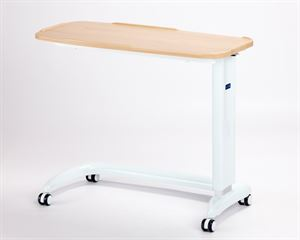 Picture of Enterprise non tilting overbed table\chair in Beech