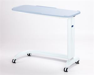 Picture of Enterprise non tilting overbed table\chair Blue with moulded base cover