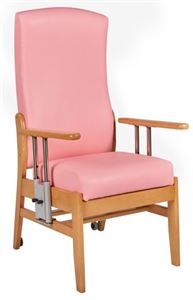Picture of Prestige High Back Chair, Drop Down Arms