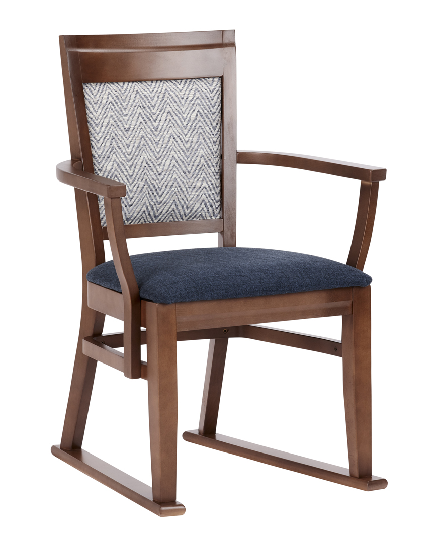 Chelford Dining Chair With Arms & Skids   Renray Healthcare