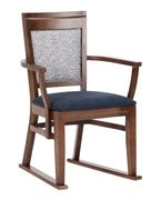 Picture of Chelford dining chair with arms & skids