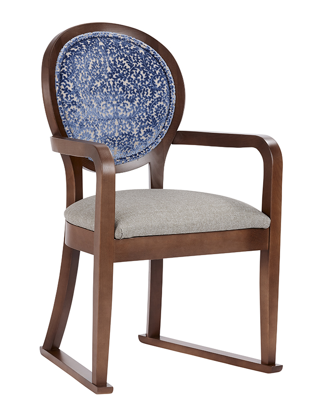 Magnificent Manhattan Carver Chair With Skids Renray Healthcare Uwap Interior Chair Design Uwaporg