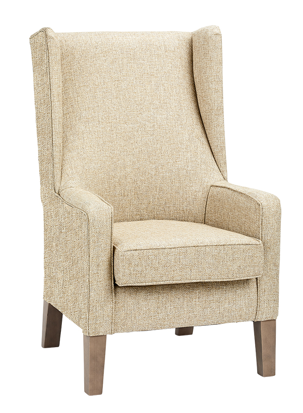 Tremendous Kingsley High Back Wing Chair Renray Healthcare Gmtry Best Dining Table And Chair Ideas Images Gmtryco